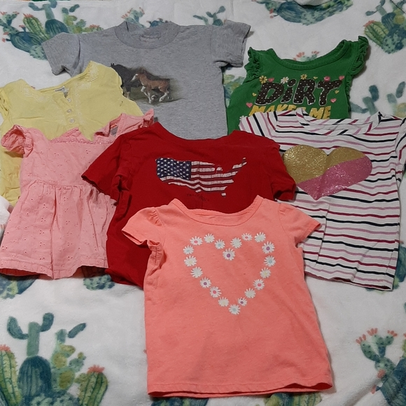 John Deere Other - Lot of 7 tops country